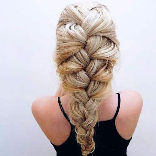 Wispy Braid Updo to Make Everyone Go Gaga