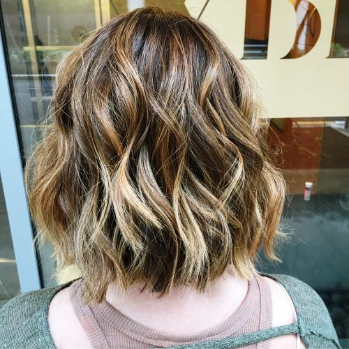 Dark Lowlights with Bright and Blonde Highlights