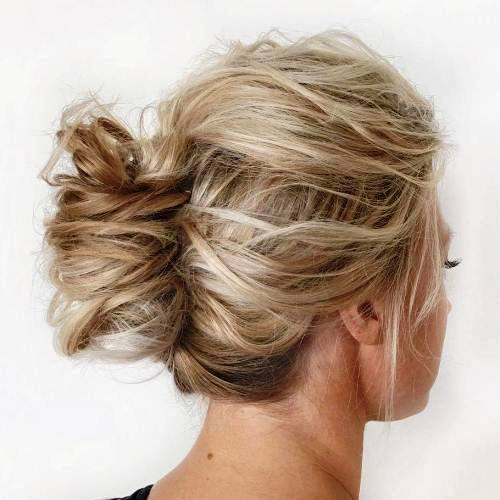 Disheveled Updo
