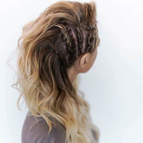 Faux Braid with Blond Hair