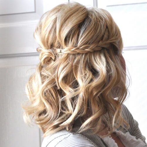 Half-Up Braided Style