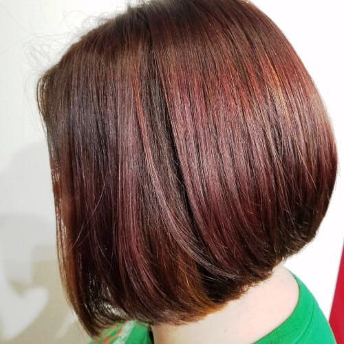 Hot Colored Bob