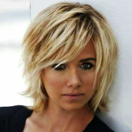 Layered Long Bob Hairstyles For Thick Hair 32