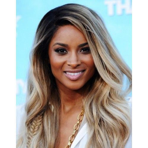 Long Bronde Hair for Black women