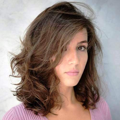 Mid Length Layered Hairstyles For Thick Hair 81