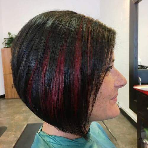 Back View Shoulder Length Layered Haircuts For Thick Hair 63