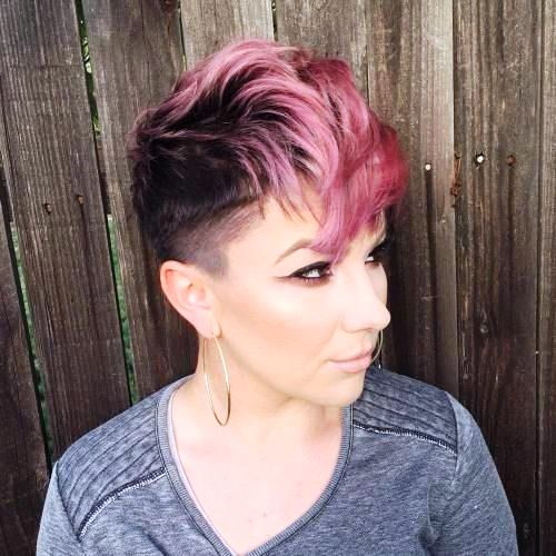 Pixie Pink Tipped Cut