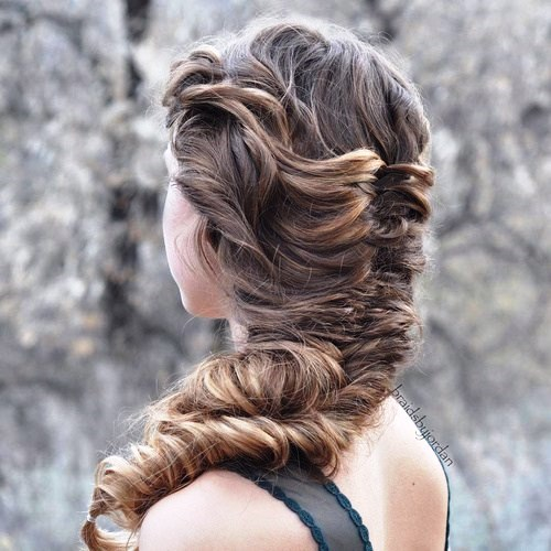 Side Fish Braid