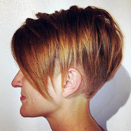 Undercut with Asymmetric Bob