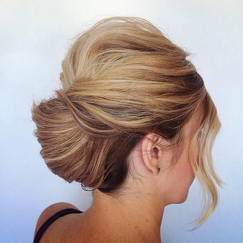 Roll and Twist Updo