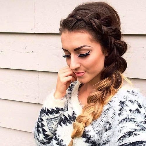 Side-Braided Style