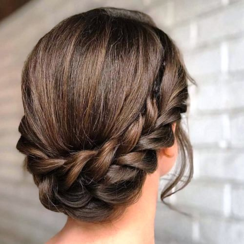 Smooth Fringes with an Updo
