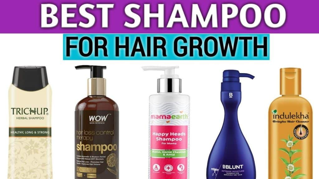 Best Shampoo for Hair Growth and Thickness