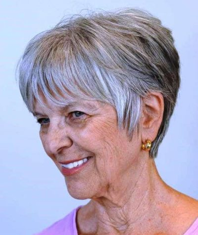 Pixie Haircut- Best Hairstyle for women over 60