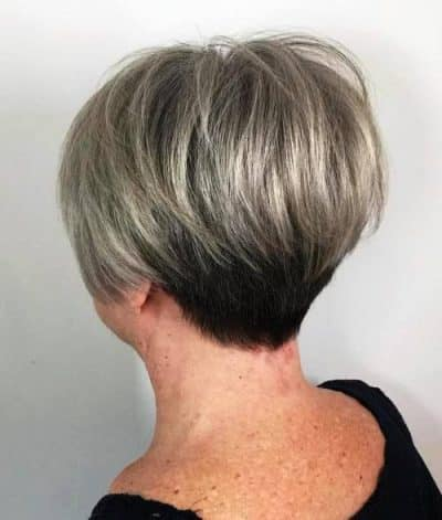 Spike Grey Pixie- Best Hairstyle for women over 60