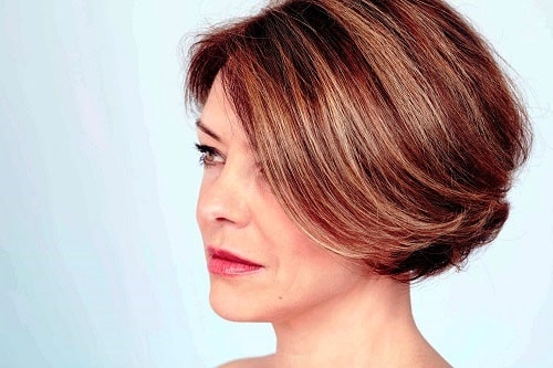 Blunt Cut for Thick Hair Short Haircut for Women Over 40