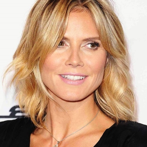 Modern Chin-Length Bob-Medium Length Hairstyles for Women Over 40