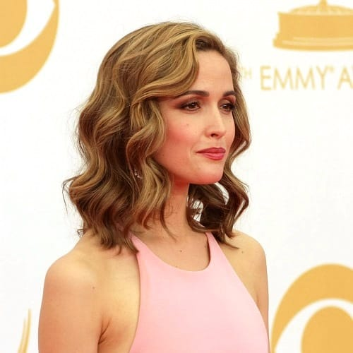 Loose Curls-Medium Length Hairstyles Over 40