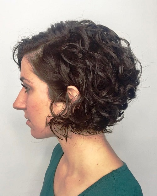Short Curly Hair-40s Hairstyle