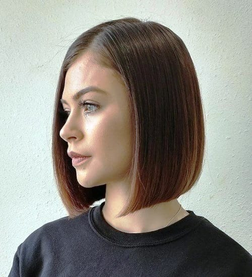 BLUNT BOB Short Hairstyles For Fine Hair